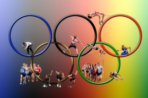 olympic rings with athletes, olympics 2016, 2016 olympics, rio, air ambulance, air ambulance jet, medical airplane transport