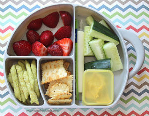 plate of healthy snacks, healthy snacks for kids, healthy eating for kids